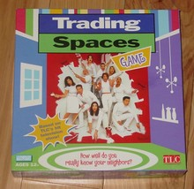 Trading Spaces Game 2003 Parker Brothers Nib Factory Sealed Parts Complete - $20.00