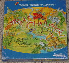 Triple Challenge Boardgame Thrivent Financial New Factory Sealed Game - $25.00