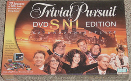 TRIVIAL PURSUIT SNL DVD EDITION NEW FACTORY SEALED BOARD GAME PARKER BRO... - $25.00