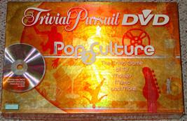 TRIVIAL PURSUIT DVD POP CULTURE 2 GAME 2005 PARKER BROTHERS COMPLETE LIG... - $20.00