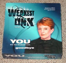 WEAKEST LINK GAME 2001 HASBRO COMPLETE EXCELLENT - $18.00