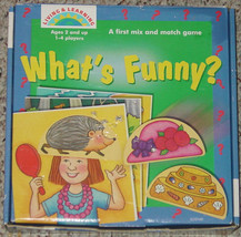 WHATS FUNNY MIX & MATCH GAME LIVING & LEARNIN MADE IN UK  COMPLETE - $25.00