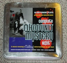 Whodunit Mystery Night Chilling Entertainment Game 2003 Lagoon Group Unused - $25.00