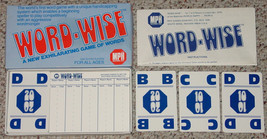 WORD WISE GAME OF WORDS MPH GAMES COMPLETE EXCELLENT - $20.00