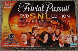 TRIVIAL PURSUIT SNL DVD EDITION BOARD GAME 2004 PARKER BROTHERS COMPLETE - $15.00