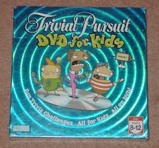Trivial Pursuit Dvd For Kids Season 1 Trivia Game Parker Brothers 2006 New Seale - $15.00
