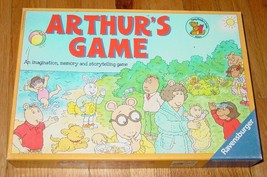 ARTHURS IMAGINATION, MEMORY & STORYTELLING GAME 2000 RAVENSBURGER COMPLETE - $20.00
