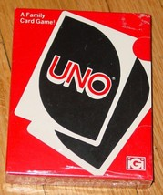 CARD GAME UNO CARD GAME 1978 INTERNATIONAL GAMES IGI MADE IN USA COMPLETE - $36.00