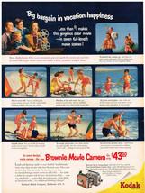 Vintage 1952 Magazine Ad For Kodak Brownie Movie Camera & Hunt's Tomato Catsup - $5.93