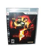 Resident Evil 5 (Sony PlayStation 3, 2009) - $12.86