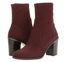 Michael Kors Chase Ankle Boot Color Plum Size 5 EU 35 MSRP $199 - $94.05