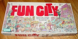 FUN CITY GAME 1987 PARKER BROTHERS COMPLETE - $20.00