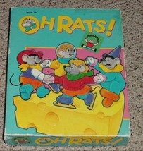 OH RATS PUZZLE GAME 1988 DISCOVERY TOYS COMPLETE - $20.00