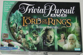 TRIVIAL PURSUIT DVD LORD OF THE RINGS GAME TRILOGY EDITION 2004 PARKER B... - $25.00