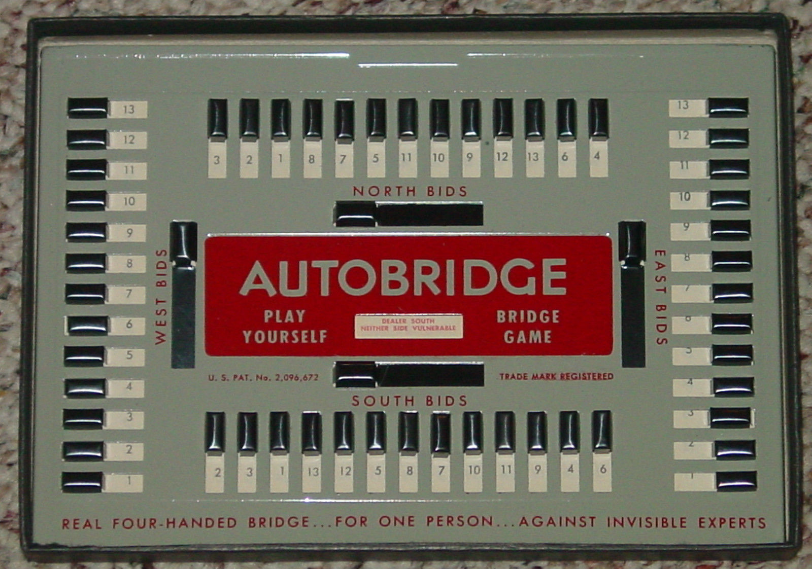 Autobridge play yourself bridge game pgb beginners set for Charity motors bridge card
