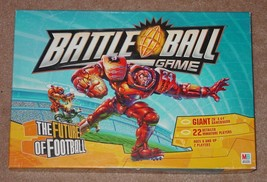 BATTLE BALL FUTURE OF FOOTBALL GAME 2003 MILTON BRADLEY HASBRO COMPLETE - $25.00