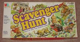 Scavenger Hunt Madcap Seek & Search Game 1983 Milton Bradley Complete Excellent - $20.00