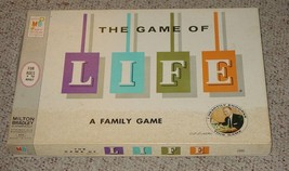 LIFE GAME OF LIFE 1960 ART LINKLETTER ENDORSE  MILTON BRADLEY COMPLETE E... - $30.00