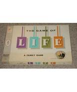 LIFE GAME OF LIFE 1960 ART LINKLETTER ENDORSE  MILTON BRADLEY COMPLETE E... - $30.00