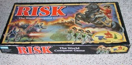 RISK GAME THE WORLD CONQUEST GAME PARKER BROTHERS 1993  EXCELLENT CONDITION - $25.00