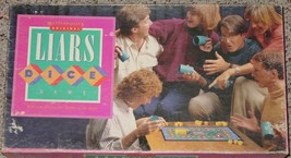LIARS DICE GAME BATTLE OF THE BIDS 1987 MILTON BRADLEY COMPLETE EXCELLENT - $20.00