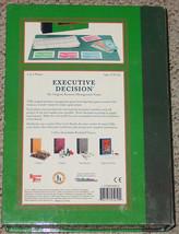 EXECUTIVE DECISION GAME BOOKSHELF GAME BUSINESS MANAGEMENT 2006 UNUSED COMPLETE image 2