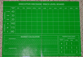 EXECUTIVE DECISION GAME BOOKSHELF GAME BUSINESS MANAGEMENT 2006 UNUSED COMPLETE image 4
