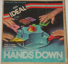 Hands Down Game Rare Edition Vintage Toy Complete Ideal 1981 - $25.00