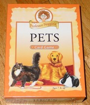 PETS CARD GAME 2006 PROFESSOR NOGGINS COMPLETE EXCELLENT USED GAME - $12.00