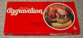 AGGRAVATION DELUXE AGGRAVATION MARBLE GAME 1970 LAKESIDE COMPLETE VERY GOOD - $30.00