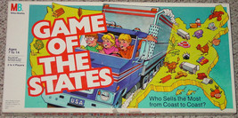 GAME OF THE STATES 1987 MILTON BRADLEY COMPLETE EXCELLENT - $20.00