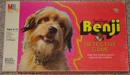 BENJI DETECTIVE GAME 1979 MILTON BRADLEY COMPLETE EXCELLENT - $20.00