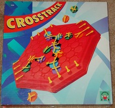 CROSSTRACK GAME DISCOVERY TOYS 1994 #4240 COMPLETE EXCELLENT - $20.00