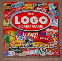LOGO BOARD GAME BRANDS SPIN MASTER GAMES COMPLETE - $45.00