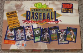 Major League Baseball Trivia Board Game 1992 Collectors Unused Complete - $35.00
