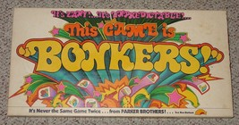 BONKERS GAME 1978 THIS GAME IS BONKERS PARKER BROTHERS COMPLETE EXCELLENT - $20.00