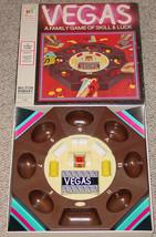 Vegas Game Family Game Of Skill & Luck Milton Bradley 1973 Vintage Complete - $25.00