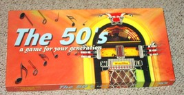 50S GAME THE 50S FOR YOUR GENERATION GAME LATE FOR THE SKY MONOPOLY STYLE - $25.00