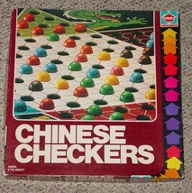 Chinese Checkers Game 1979 Hasbro Games Complete 60 Plastic Marbles - $20.00