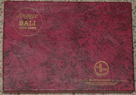BALI CARD GAME 1954 SELCHOW & RIGHTER VINTAGE COMPLETE & EXCELLENT CONDI... - $20.00
