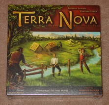 TERRA NOVA GAME PIONEERS OF THE NEW WORLD 2006 WINNING MOVES FACTORY SEA... - $20.00