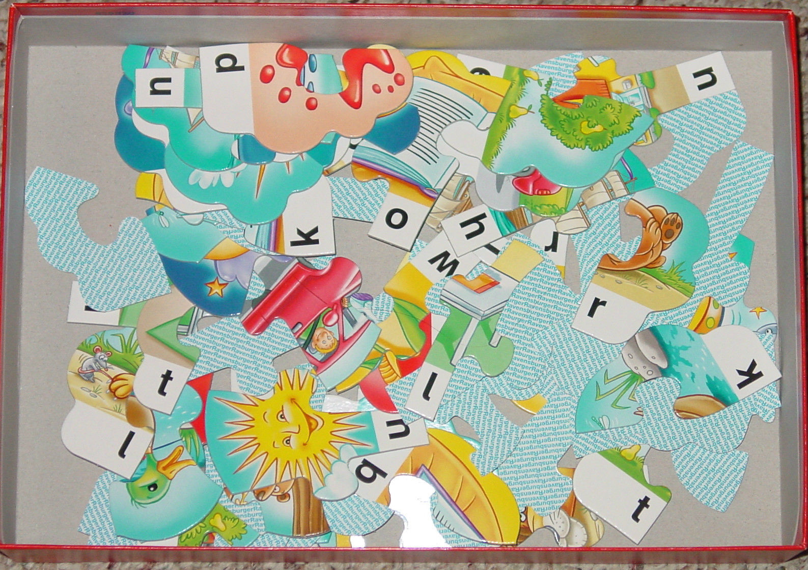 Forming First Words Ravensburger Spell It Out!