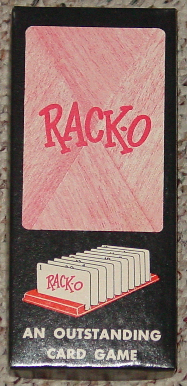 Racko Card Game Parker Brothers 1956 Vintage And 50 Similar Items