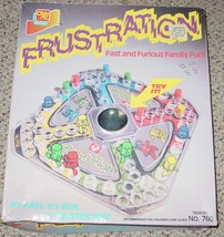 FRUSTRATION  GAME OHIO ART GAMES  RARE GAME NO 760 POP A DICE COMPLETE - $30.00