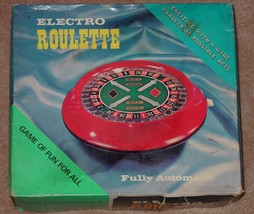 ELECTRO ROULETTE GAME WACO COMPLETE EXCELLENT - $25.00