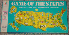 GAME OF THE STATES 1975 MILTON BRADLEY COMPLETE EXCELLENT - $25.00