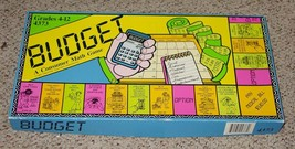 Budget Consumer Math Game 1983 Creative Teaching Associates Complete Excellent - $25.00
