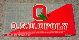 OSU OPOLY OSUOPOLY GAME MONOPOLY STYLE LATE FOR THE SKY  COMPLETE EXCELLENT - $20.00