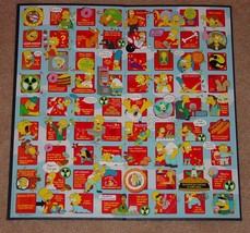 SIMPSONS LOSER TAKES ALL DYSFUNCTIONAL PARTY GAME 2001 ROSEART COMPLETE image 3