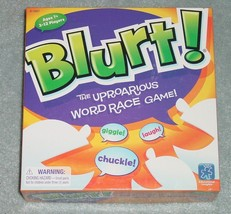 BLURT WORD RACE GAME EDUCATIONAL INSIGHTS COMPLETE - $25.00